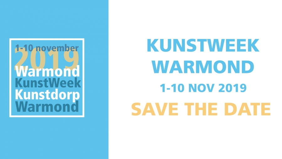 Save the date Kunstweek Warmond 2019