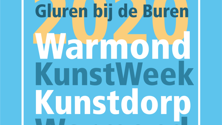 Logo Kunstweek Warmond GbdB_2020